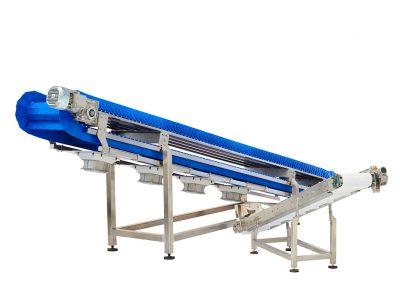 Plastic Modular Infeed Conveyor